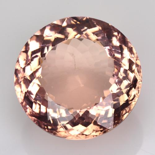 Rare Gems Stone Collection Brazilian Morganite 14 00 Ct Round Cut Peach Pink Ebay